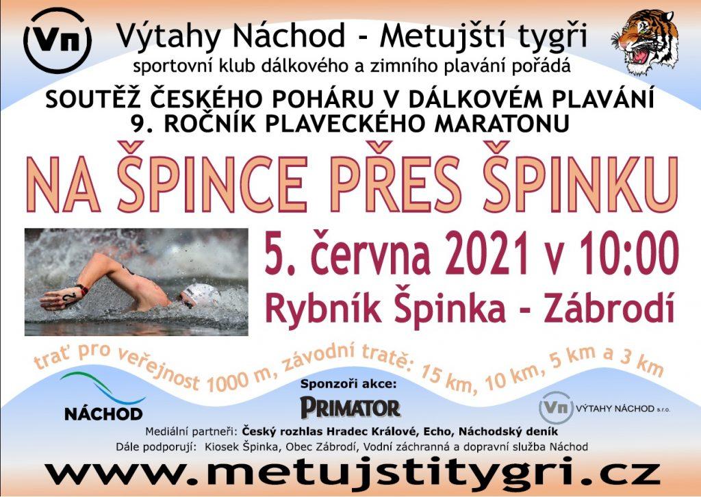 Plakát Na Špince přes Špinku 2021