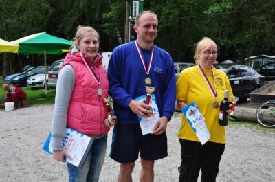 Na Špince - stupně vítězů 3000 m