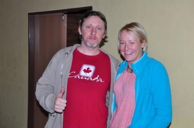 Návštěva z USA Melissa a  Pavel