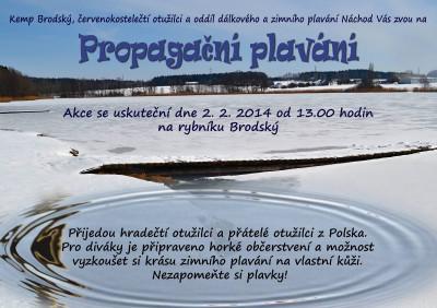 Propagační plavání Borďák